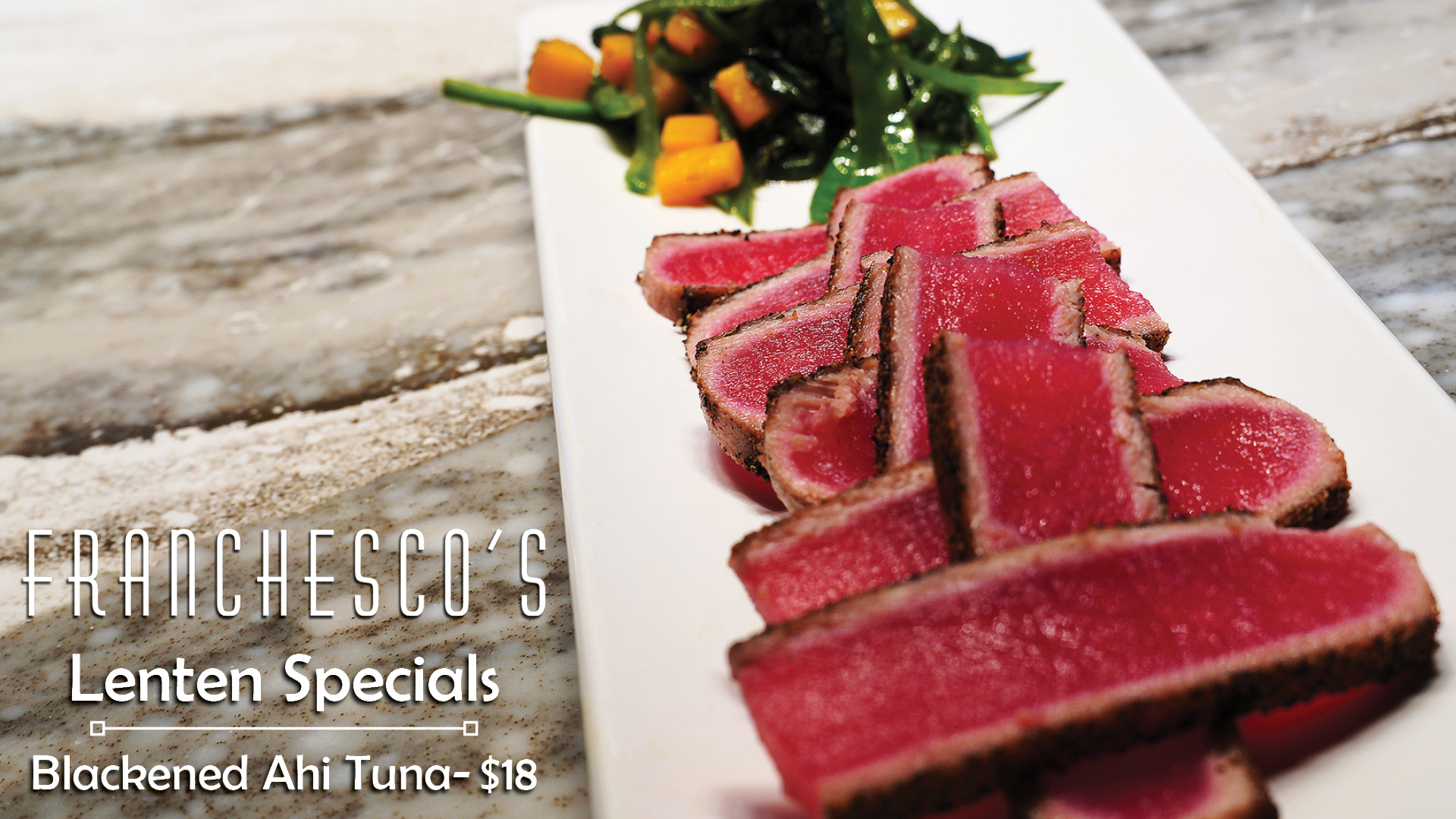 Blackened Ahi Tuna- Now only $18