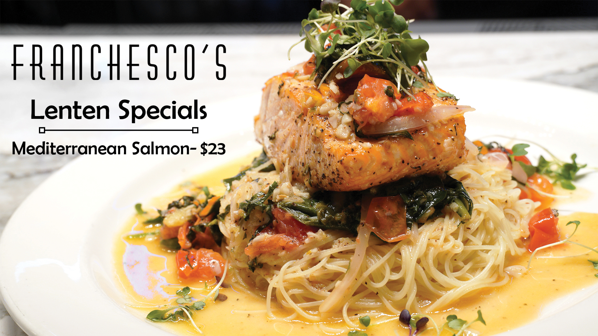 Mediterranean Salmon- Now only $23